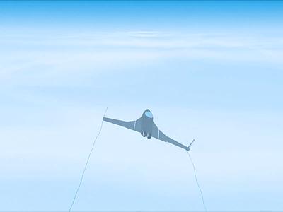 cloud loop invite after effects animation sky jet plane loop cloud