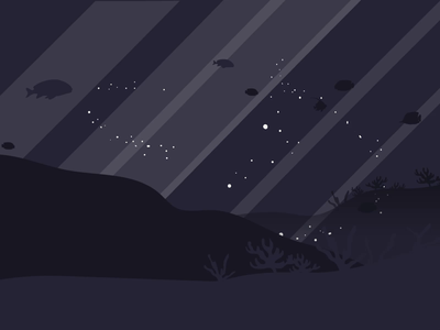 ocean loop invite night ocean after effects loop animation