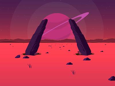 space loop invite animation loop space