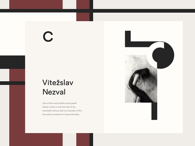 Czech Avantgarde body letters abeceda art direction art czech avantgarde