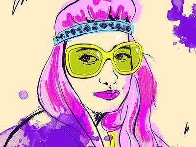 Priestess Ann procreate ipad pro design art digital illustration