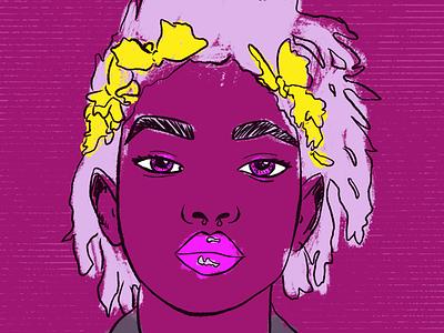 Willow procreate art portraits illustration digital