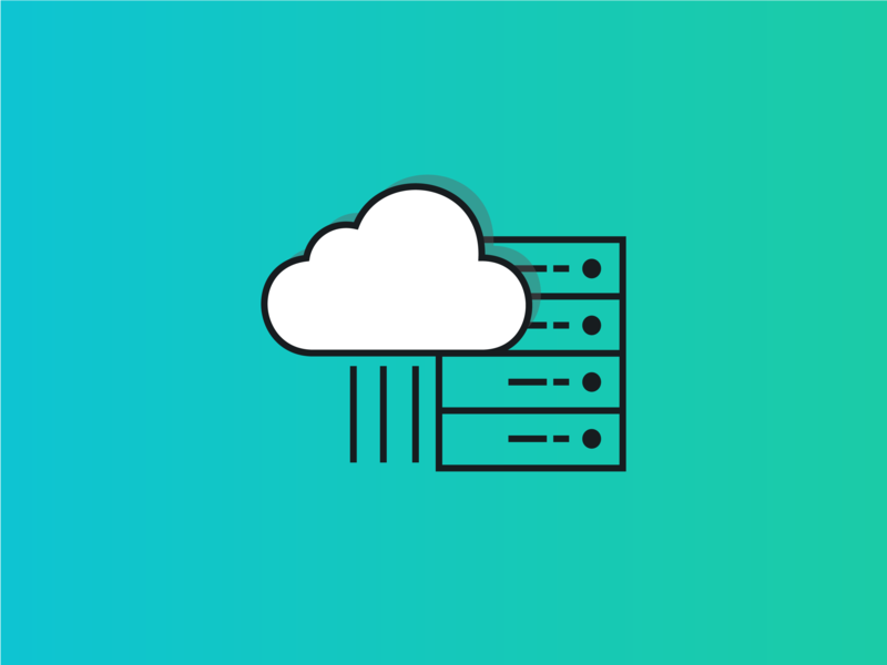 Cloud Computing Icon web design web app software integrations illustration icon design icon development cloud computing cloud