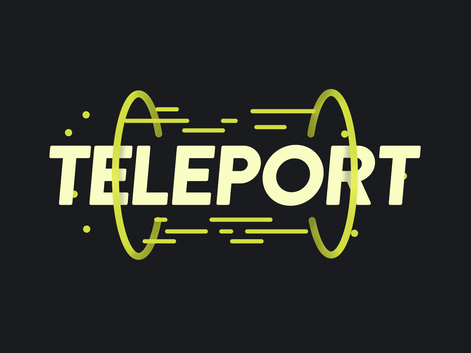 Teleport by Max Schwanger on Dribbble