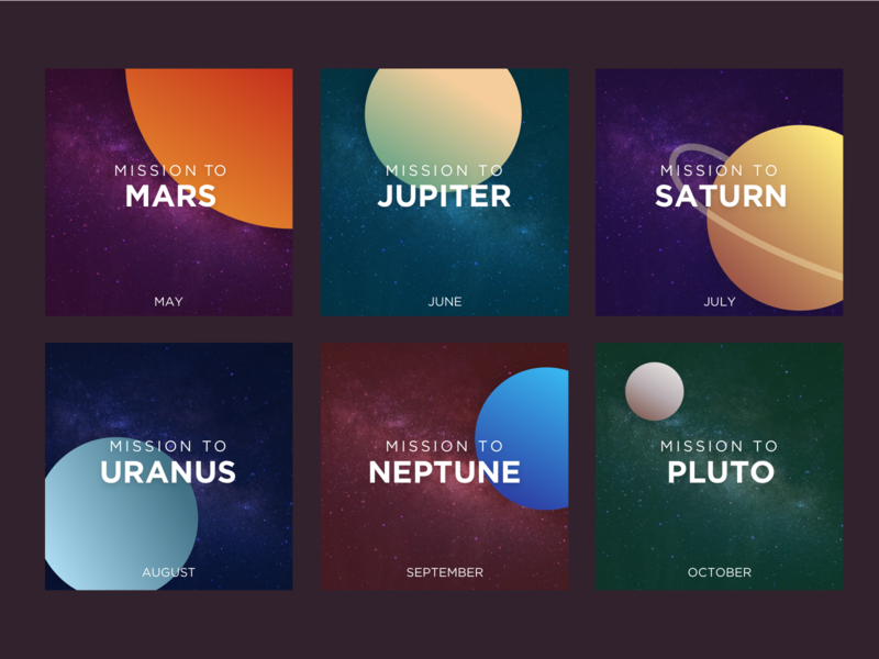 Race Through Space Planet Cards outer space pluto neptune uranus saturn jupiter mars planets planet space