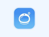 Space Helmet iOS icon