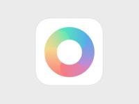 Color wheel iOS icon