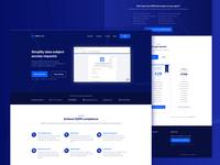GDPR Form marketing website