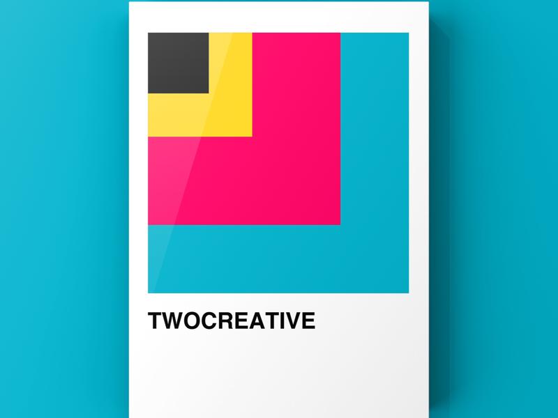 Twocreative Design colors illustration vector