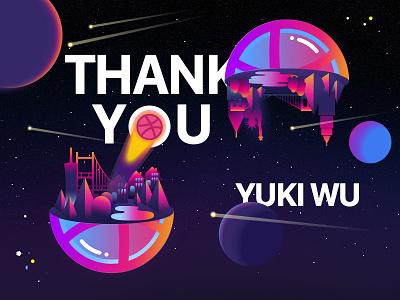 Thank you Yuki Wu thank you thanks starry space san francisco new york invite dribble