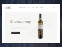 Header layout - wine page