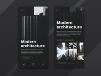 Architecture mobile web concept