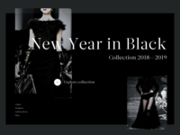NYE in Black—fashion collection