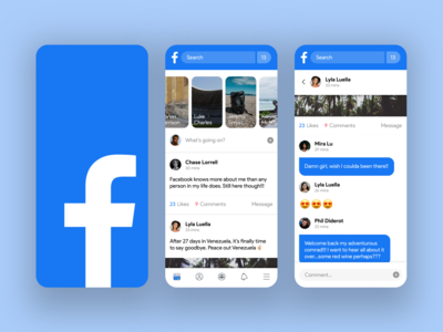 Facebook Redesign – Feels Young Again