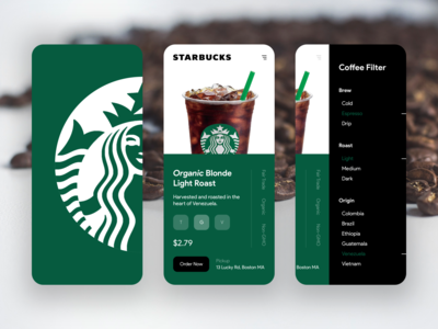Starbucks App – Order Some Coffee