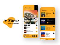 MUSE Social Music App