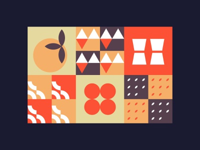 Abstract food illustration icons food abstract illustration