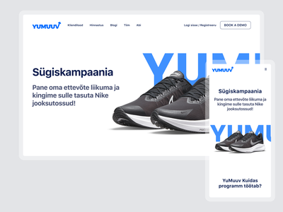 Landing page exploration clean design health and fitness app training trainers sneakers sport minimal web site design web design landing page