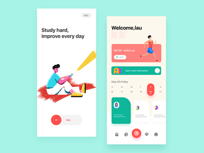 design app mobile app app mobile color illustration ui