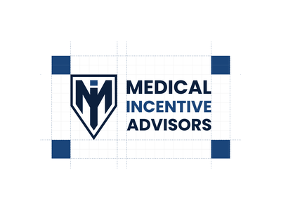 Logo and Style Guide for Medical Incentive Advisors logo grids brand style guide brand guidelines branding concept branding identity branding design finance logo medical logo logo process
