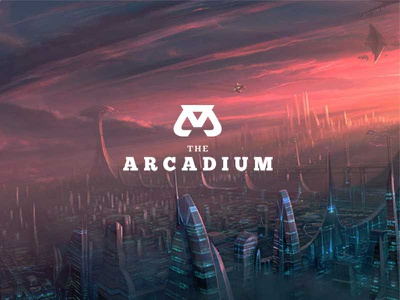 The Arcadium logo music animation game illumination arcade alien film production record studio