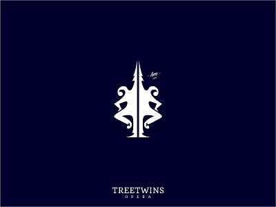 Treetwins tree choreography human dance artist logo twins performance theatre drama opera