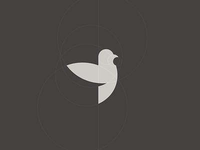 A pigeon construction logo bird pigeon