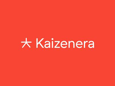 Kaizenera logo japan kanji logotype kaizenera era kaizen logo