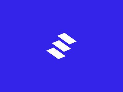 Unused logo concept logo simple steps