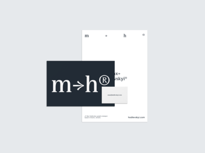 max→hodlevskyi® identity elements