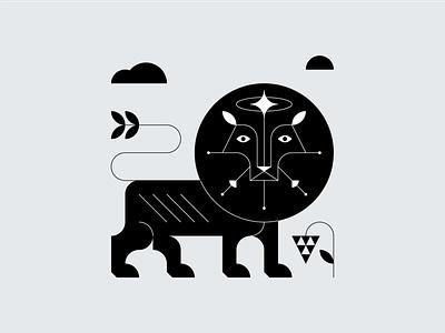 Lion egypt god nature logo nature illustration symbol design vector illustration vector animal logo animal illustration animal lion head lion logo lion