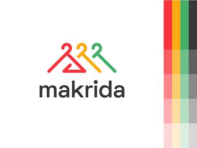 Makrida branding brand design graphicdesign design graphic design reatils online store commerce store market online store shop online shop shopping closet logo design logo