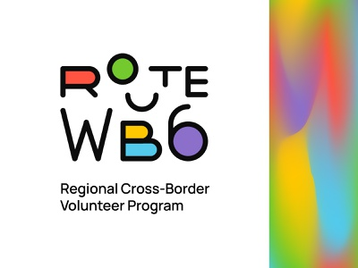 Route WB6 colors colorful logo graphic branding graphic design design graphicdesign