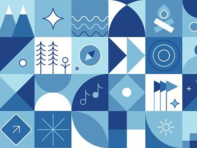 Mountain Festival festival mountain nature pattern brand identity brand design brand design graphic design graphicdesign illustration
