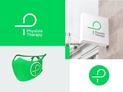 Physiola Therapy hospital physical therapy physician physiotherapist therapy physiotherapy clinic doctor branding logo graphic design