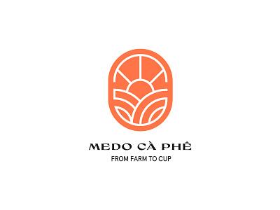 Medo Cà Phê cafe bio branding identity visual identity caphe ca phe branding logo design graphic design beverage coffee vietnamese coffee vietnam vietnamese