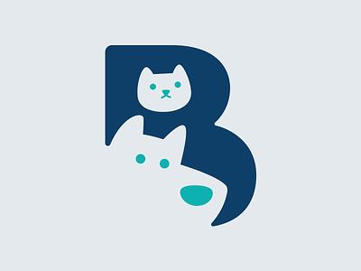 Beep nonprofit gato perro cat dog animales branding logotype logotipo b