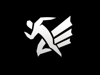 Halcones de Hermosillo speed running run runner falcon logotipo logo logotype branding