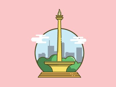 Monas, Monument of Jakarta