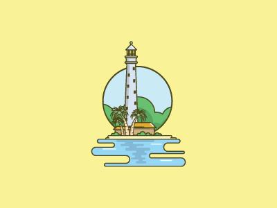 Lighthouse Lengkuas Island