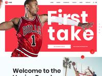 Venice Beach Basketball Web Design