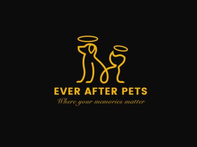 Ever After Pets Logo Design
