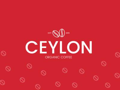 Ceylon Organic Coffee Logo Design