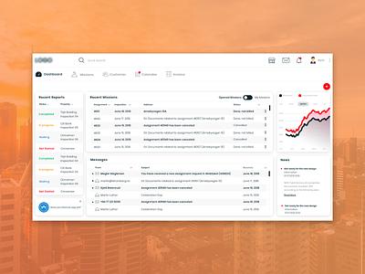 Valuation Dashboard UI Design: Web app report mission real estate property valuation colombo design product interface data dashboard ui ux application ui design ux design user test system