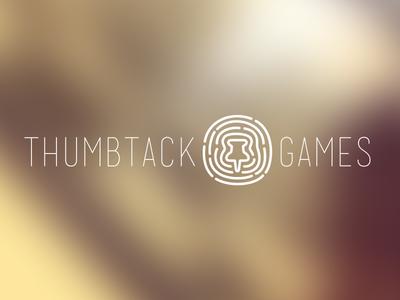 Logo mock for thumbtack games