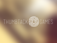 Logo mock for thumbtack games
