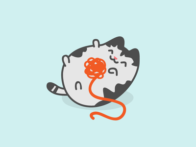 Culliver cat kitty illustration vector character