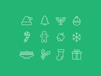 Holly Jolly Icons
