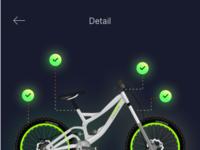 Detail bike