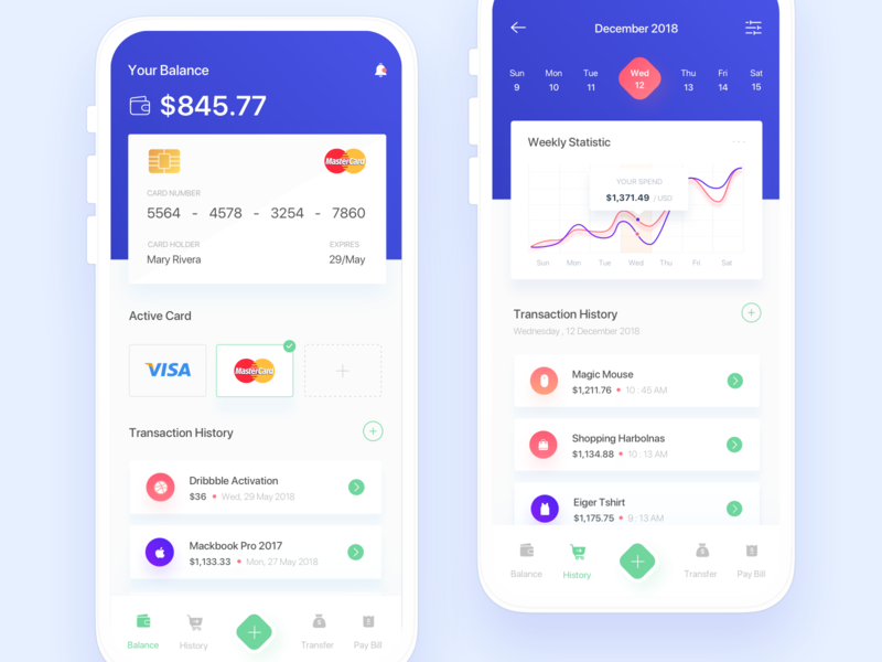 Payment App Exploration development ux ios app design mobile app design app concept credit card credit card payment payment gateway payment method payment app clean ui